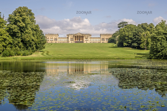 Stowe House Stowe Gardens Buckinghamshire UK