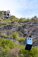 Cable car in Chiatura, Georgia