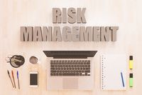 Risk Management text concept