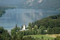 bohinjsee in Slowenien