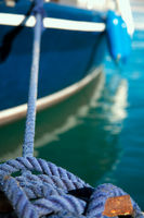 Rope for mooring