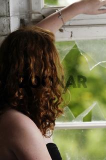 Frau Sehnsucht Einsamkeit Traurigkeit