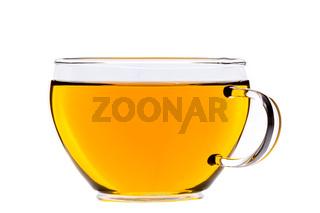 Tasse grüner Tee, chinesischer gunpowder Tee