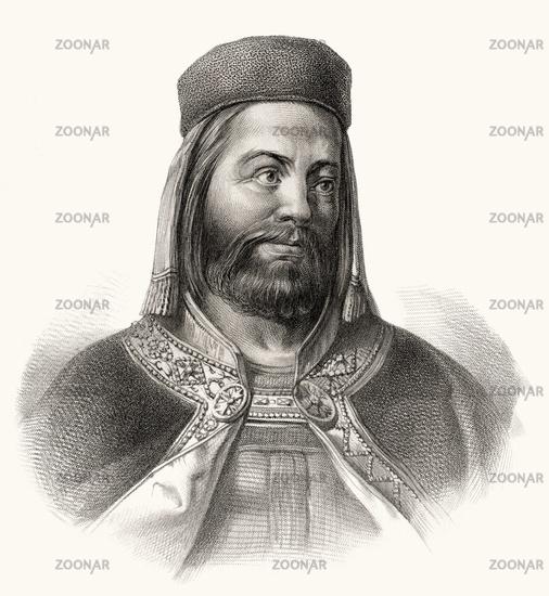 Charles IV,  1316 - 1378,  king of Bohemia, Holy Roman Emperor
