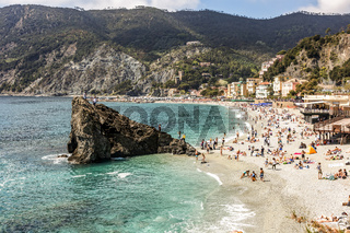 Levanto on the Ligurian coast of Italy