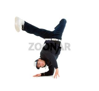 hip hop  dancer.breakdance