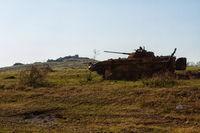 Ukrainian armored vehicles destroyed