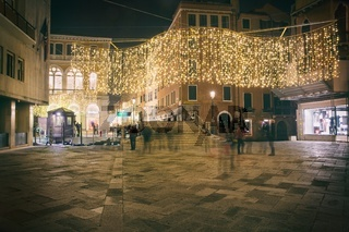 Night in Venice, Italy