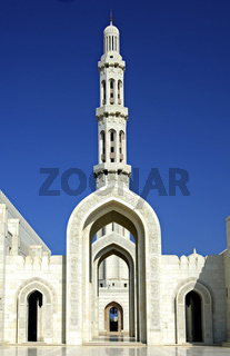 Minarett, Sultan Qaboos Moschee, Oman