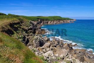 Pointe de Kermorvan in der Bretagne - Pointe de Kermorvan in Brittany, France