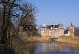 Castle in the Dutch village Ruurlo