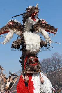 Masquerade festival Surva 2018 in Pernik, Bulgaria