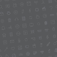 Seamless background pattern for user interface