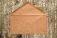 Empty brown envelope