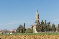Vrh - village in Istria