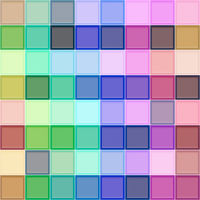seamless texture with bordered bright cubes