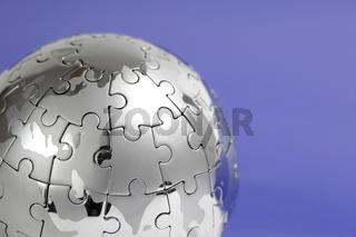 Puzzle- Globus