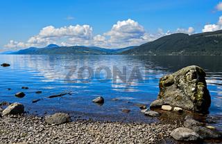 Loch Ness bei Foyers, Schottland, Grossbritannien