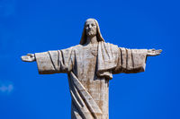 The Christ the King statue on Madeira island - Portugal