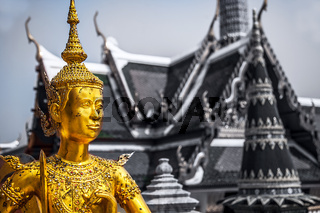 Königsoakast Großer Palast Bangkok