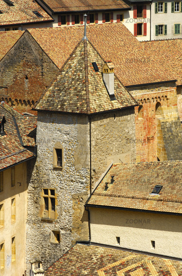 Walls and Towers, Romainmotier Abbey
