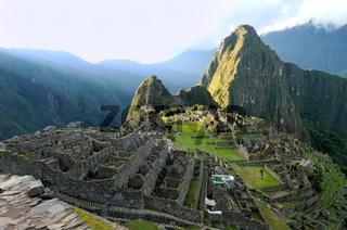 Ruine Machu Picchu