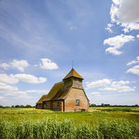 Romney Marsh, Kent and Church of Thomas A Becket