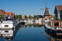 Meppel City harbor in the Netherlands