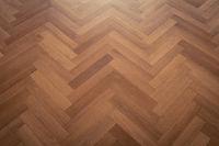 dark parquet floor, wooden floor - parquet flooring herringbone