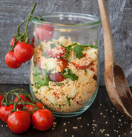 Couscous with tomatos
