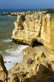 Steilkueste an der Algarve 3
