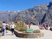 Mirador Cruz del Condor in Colca Canyon, Peru