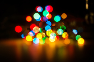 Christmas lights are a classic symbol.