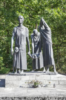 Ravensbrück Concentration Camp Memorial Fürstenberg Havel mothers group memorial statue