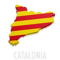 3D map Catalonia