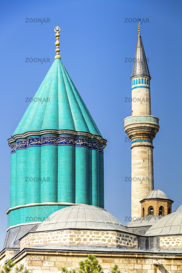 Turkey Konya Mausoleum of Meviana
