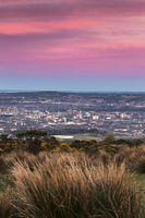 Aerial panorama of  Belfast