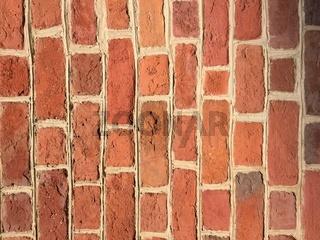 Backsteinmauer