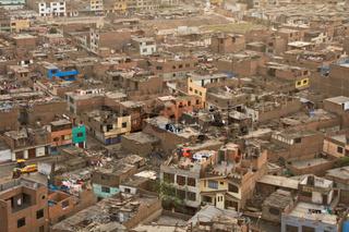 Slums in Lima