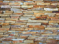Color stone wall background