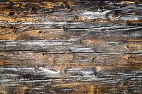 Old natural brown wood wall. Wooden textured background pattern.