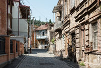Old houses in Tbilisi