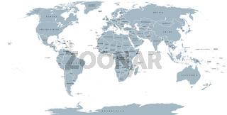 Welt politische Lankarte