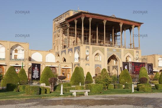 Ali Qapu Palace, Isfahan, Iran, Asia