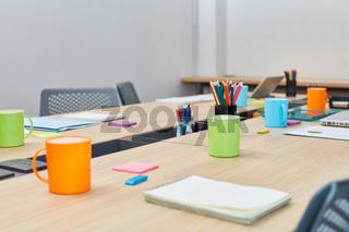 Großraumbüro als kreativer Coworking Space