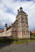 moated castle Raesfeld - tower