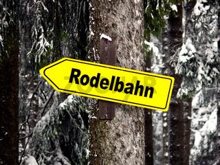 Wegweiser - Trail Sign