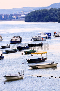 River boats on Danube