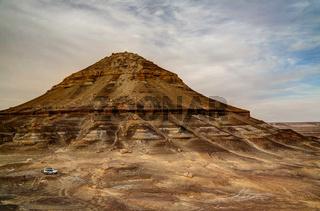 Mountain near Bahariya oasis, Egypt
