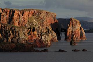 Neap cliffs, Eshaness peninsula, Shetland, Scotland